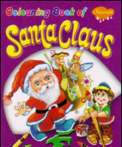 Colouring Book of Santa Clause