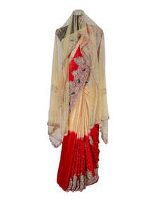 Exclusive Bridal Karchupi Saree