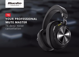 Bluedio T6 Active Noise Cancelling Headphones
