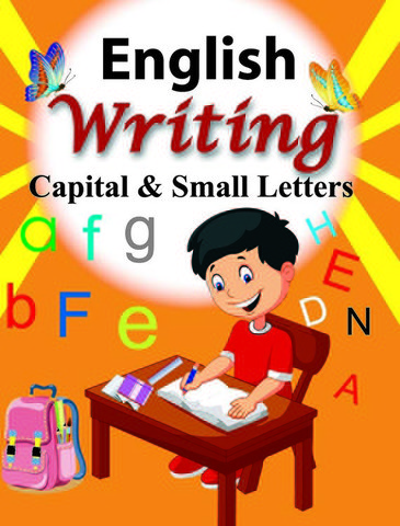 English Writing Capital & Small Letter