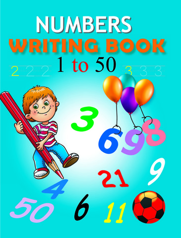 Numbers Writing book 1-50
