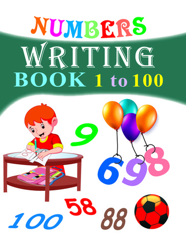 Numbers Writing book 1-100