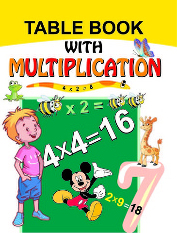 Table Book with Multiplication