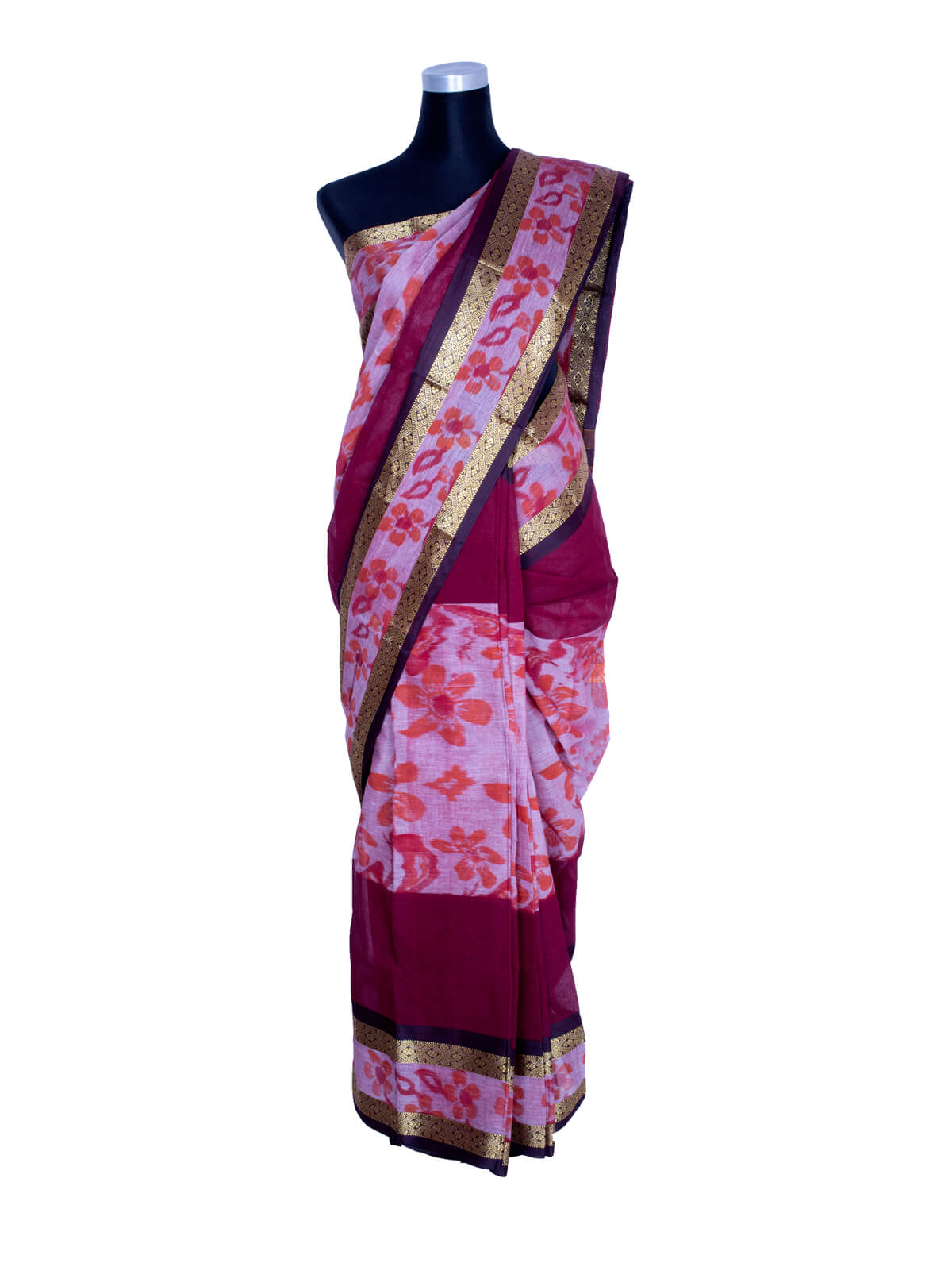 Cotton Monipuri Kotki Saree