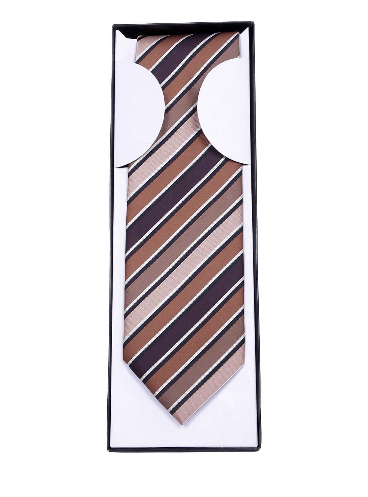 Mixed Color Silk General Tie