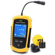 100M Portable Sonar LCD Fish Finders Fishing lure Echo Sounder Fishing Finder