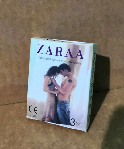 ZARAA Plain Condom (Small Pack-Belly)