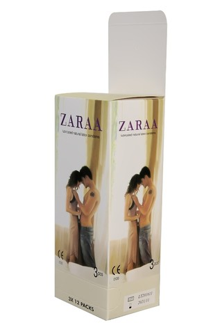 ZARAA Plain Condom (Belly-Large Box)