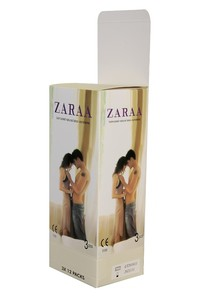 ZARAA Plain Condom (Belly-Large Box)