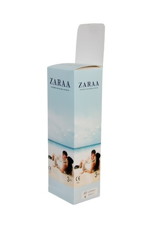 ZARAA Plain Condom (Jasmine - Large Box)