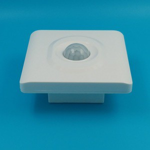 Corridor white 86mm wall adjustable pir motion sensor switch two wire LED energy saving intelligent switch 36B