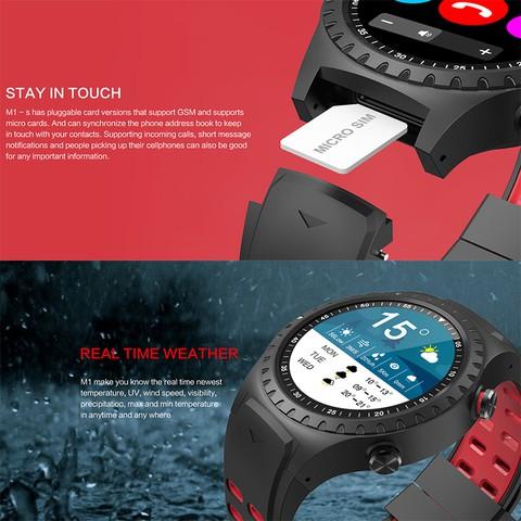 LEMFO M1 Smart Watch IP67 Waterproof sports Smartwatch