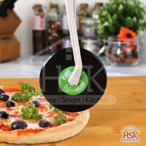 Lightweight Easy-Use Vinyl Disc Pizza Wheel and Cutter,