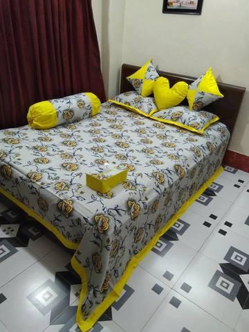 Ortha 8 pcs bedcover set - king size - Daba Print