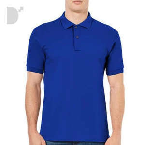 Classic Polo Shirt in Royal Blue