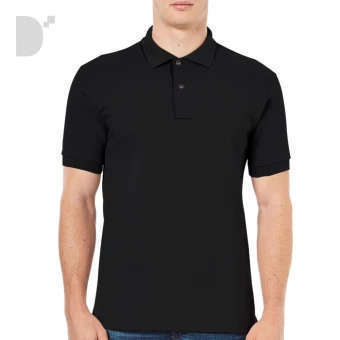 Classic Polo Shirt in Black