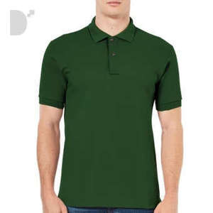 Classic Polo Shirt in Moss Green