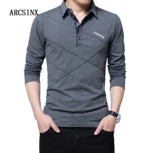 Shirt Long Sleeve Casual Male Shirt Mens polo Shirts