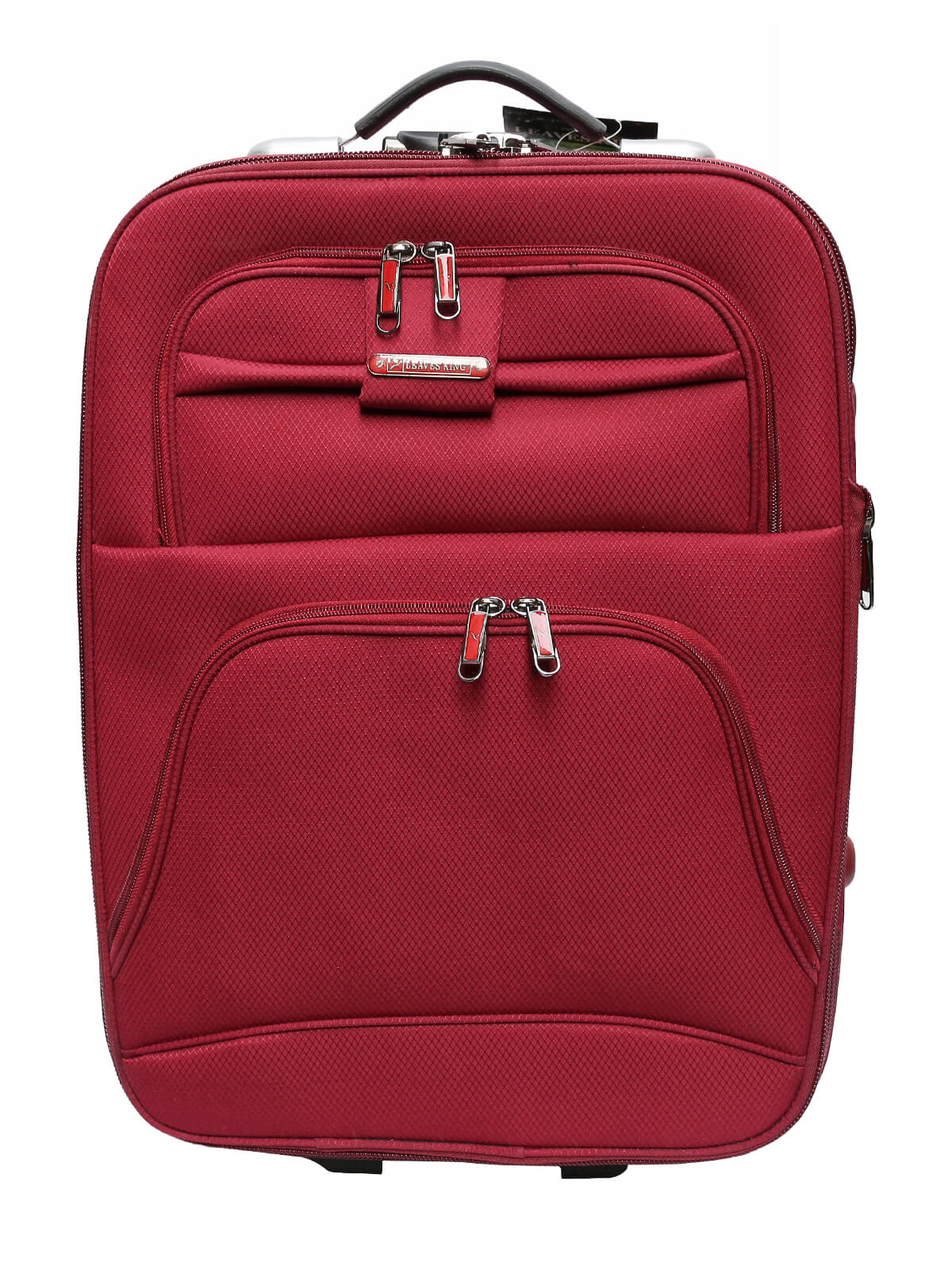 Maroon Hand Luggage Trolley