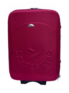 Maroon Hand Luggage Trolley