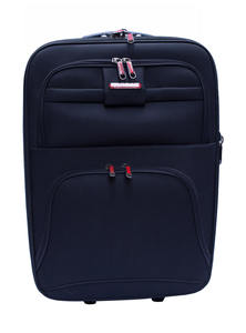 Blue Hand Luggage Trolley