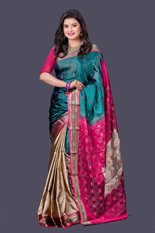 Multi Color Soft Silk Saree