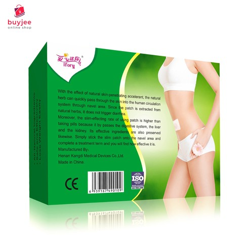 Weight Loss Slim Patch Box