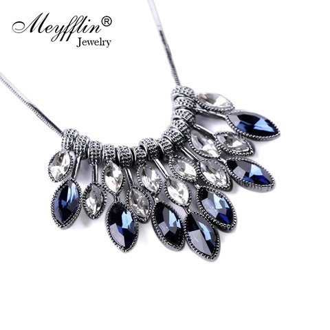 Meyfflin Collier Necklaces & Pendants Crystal Maxi Necklace
