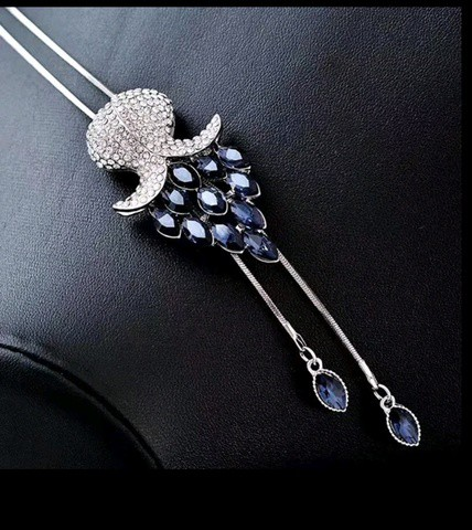 Meyfflin Long Necklaces & Pendants for Women Collier