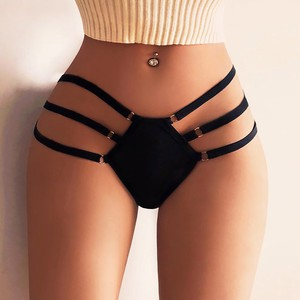 Lovebitebd High Waist G-string Brief Pantie Thong Knicker Bandage For Women