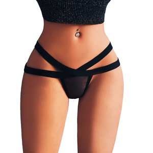 Lovebitebd Low Rise Bandage Thong G-String Panties Thongs For Women