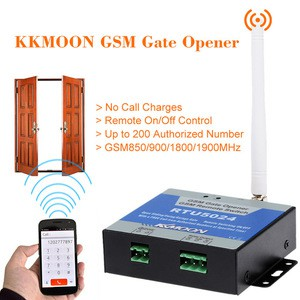 GSM Gate Opener Relay Switch Remote Access Control Wireless Door Opener By Free Call RTU5024 in Bangladesh