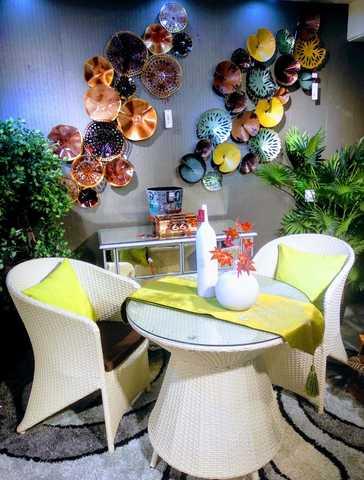 Garden Chair Set/1097