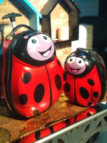 Children Travel Bag/Lady Bug
