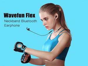 WAVEFUN Flex Wireless Bluetooth V4.2 Magnetic Earphone