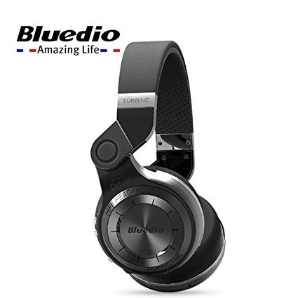 Bluedio T2+ Powerful Bass Stereo Bluetooth 4.1 Headphone