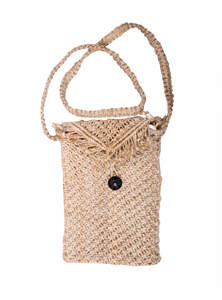 Jute Mobile Bag