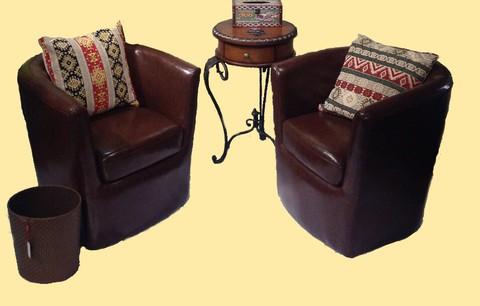 Lounge Sofa 130/Brown