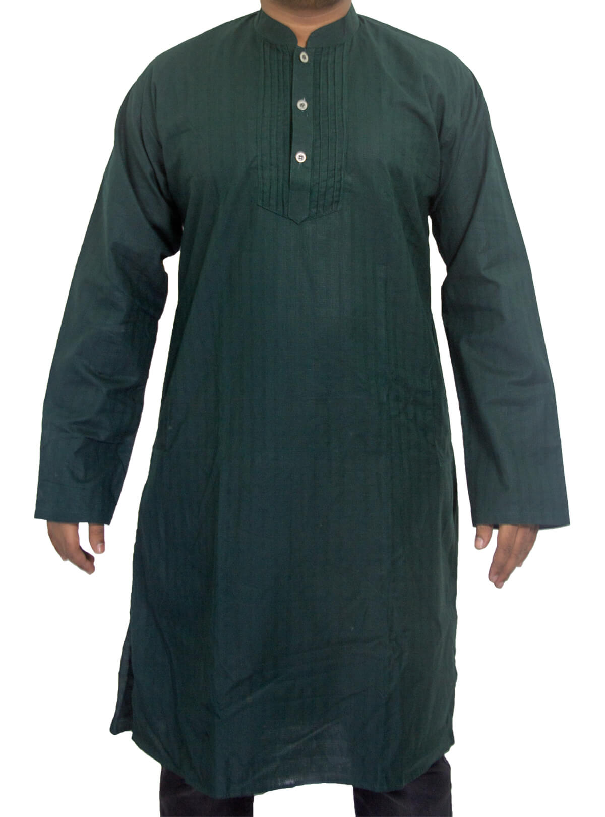 Gable Green Cotton Panjabi