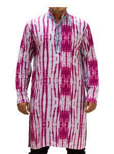 Ash Pink Linen Panjabi