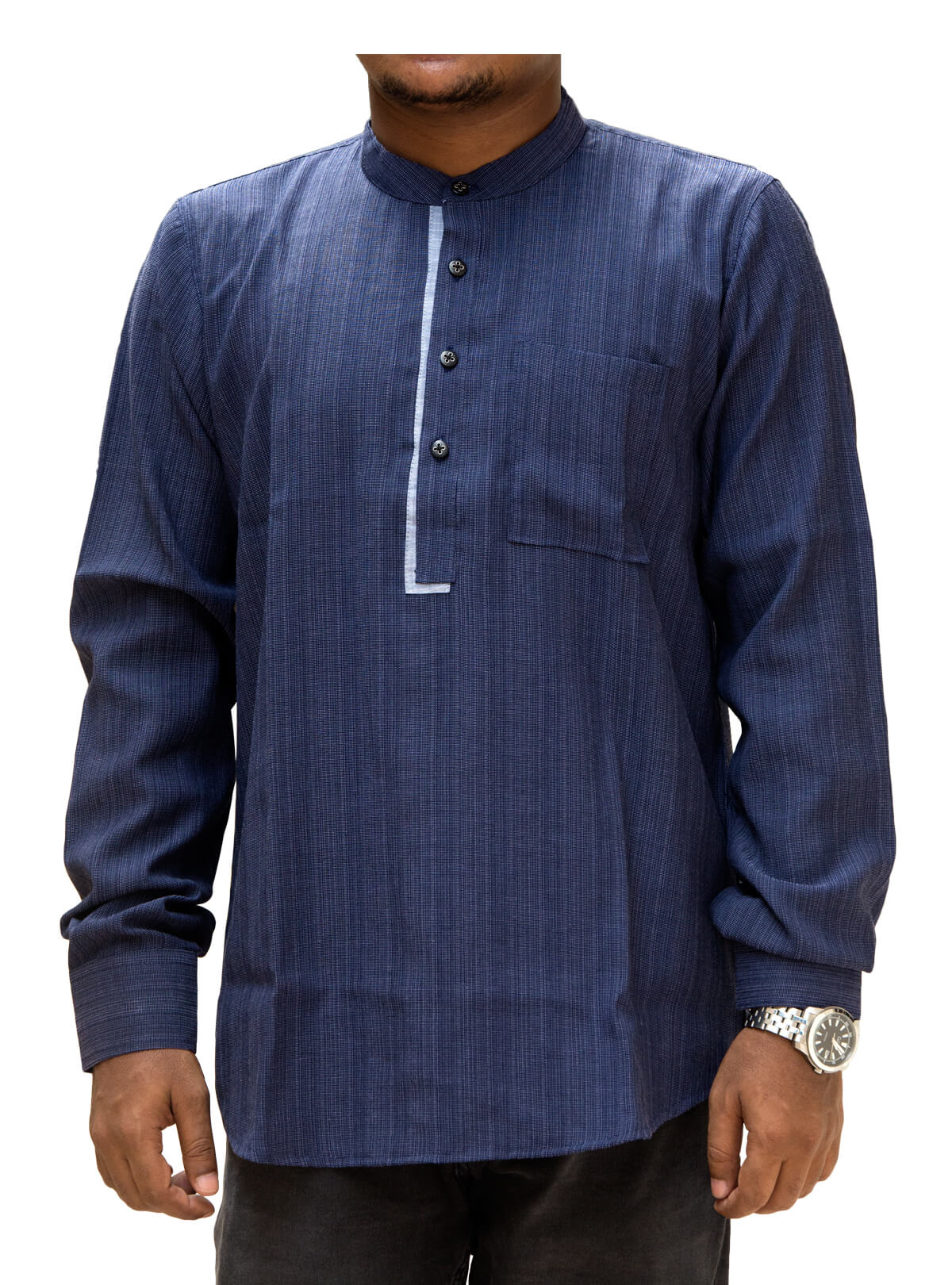 Gulf Blue Cotton Gent's Fatua