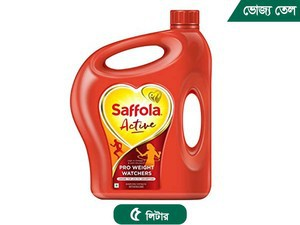 Saffola Active Blended Edible Vegetable Oil 5 Lt