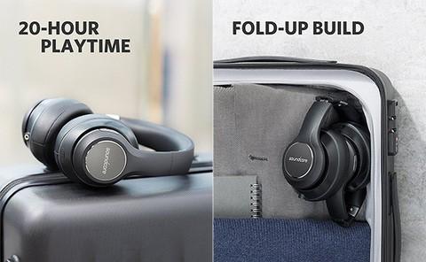 Anker Soundcore Vortex Wireless Over Ear Headphones (18 Months Official Warranty)