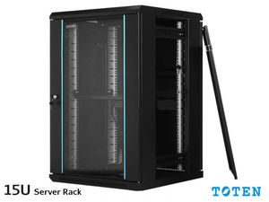15U SERVER RACK CABINET TOTEN 600x600mm Wall Mount
