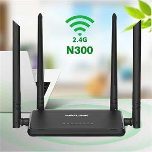 Wavlink Router WS-WN529R2P 300Mbps 4 Aerials Router 802.11n 4x5dbi Smart WIFI Wireless Routers