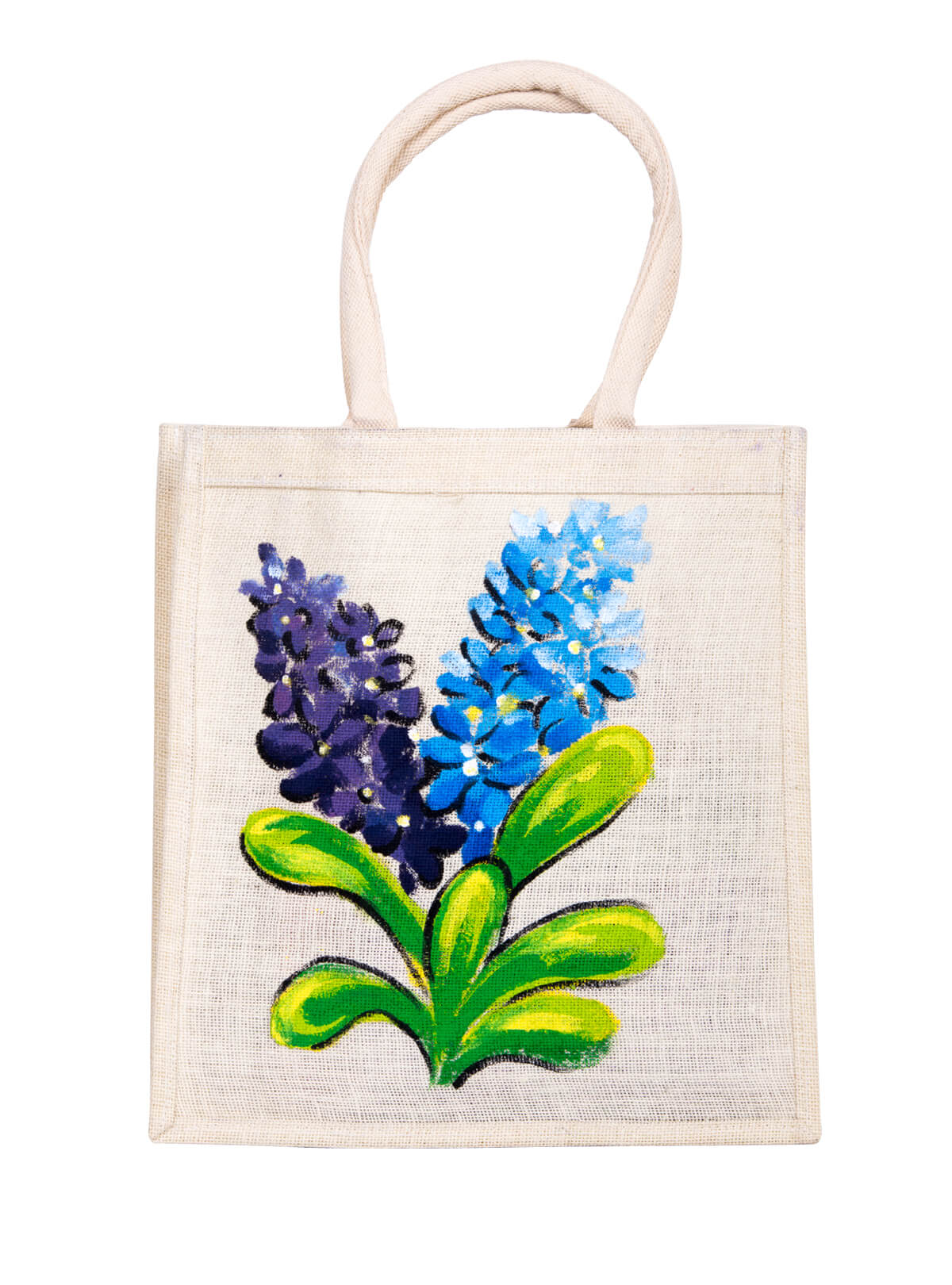 Soapstone Grey Jute Shopping Bag