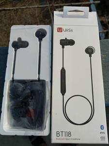 UiiSii BT118 Bluetooth earphone(IPX5, Ai voice control, 10h music play time)