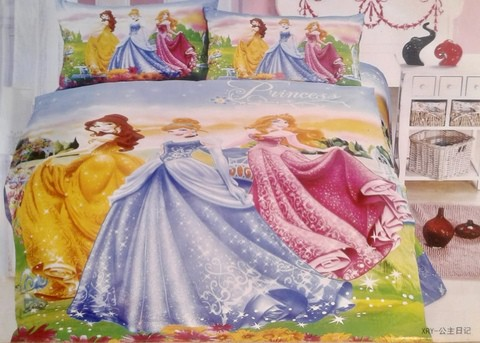 BedSet/Girls/Princess