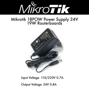 Mikrotik Power Adapter