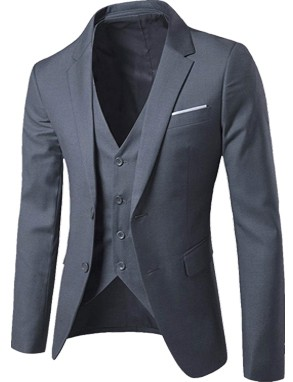 Slim Fit Fashionable Man's Blazer Ass